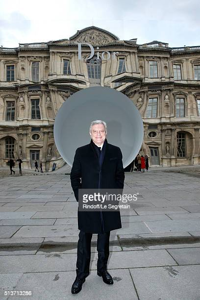 Dior, Sidney Toledano attends the Christian Dior show as part of the Paris Fashion Week Womenswear Fall/Winter 2016/2017 on March 4, 2016 in Paris,...