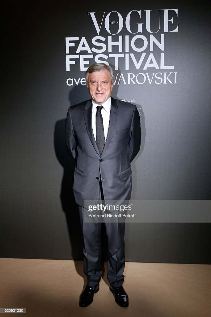 CEO Dior, Sidney Toledano attends the Vogue Fashion Festival at Hotel Potocki on November 3, 2016 in Paris, France.