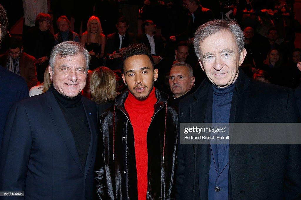 Dior Homme : Front Row - Paris Fashion Week - Menswear F/W 2017-2018