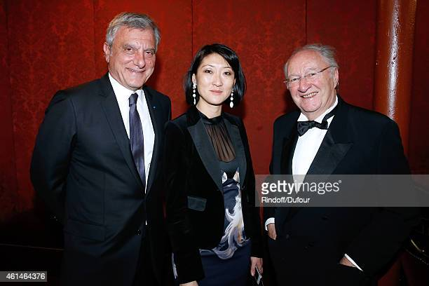 CEO Dior Sidney Toledano French minister of Culture and Communication Fleur Pellerin and Guest attend Weizmann Institute celebrates its 40...