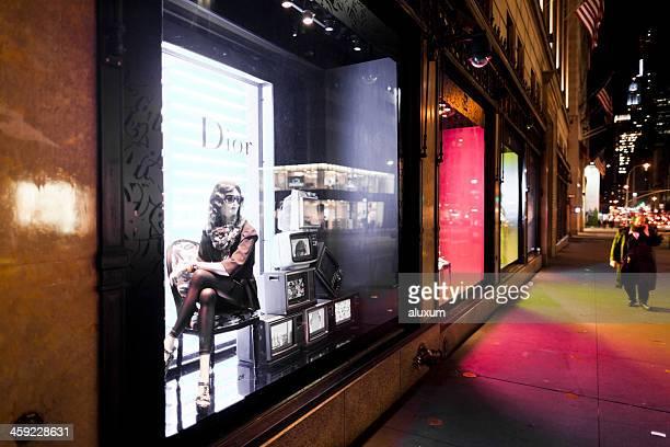 Dior magasins de la Cinquième Avenue à New York City
