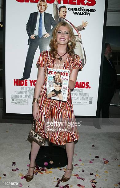 Diora Baird during Wedding Crashers New York City Premiere Arrivals at Ziegfeld Theater in New York City New York United States