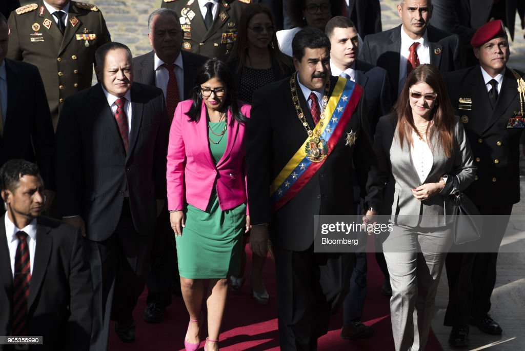 Venezuelan President Nicolas Maduro Delivers State Of The Union Address