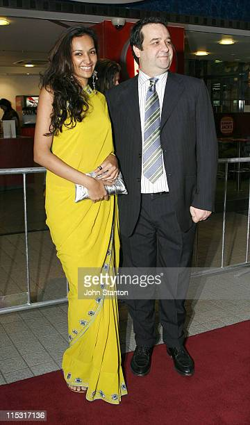 Dipannita Sharma and Mick Molloy during 'Boytown' Sydney Premiere Red Carpet at Greater Union George St Cinema in Sydney NSW Australia