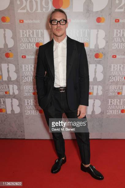 Diplo arrives at The BRIT Awards 2019 held at The O2 Arena on February 20 2019 in London England