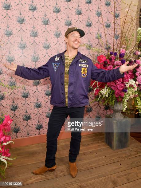 Diplo at Vogue and Focus Features Celebrate Emma. At Chateau Marmont on February 18, 2020 in Los Angeles, California.