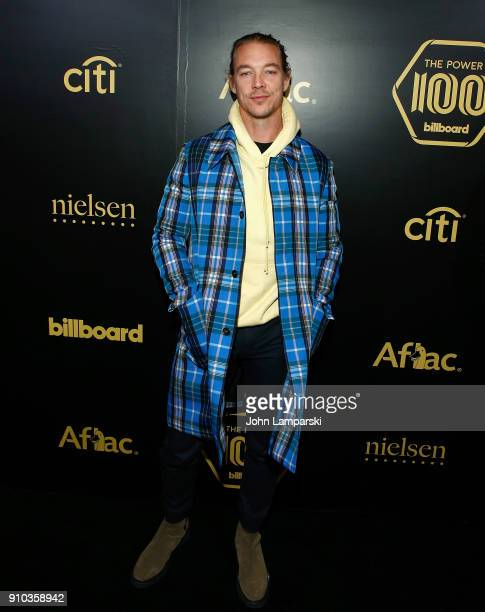 Diplo attends 2018 Billboard Power 100 List at Nobu 57 on January 25, 2018 in New York City.