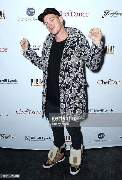 Diplo attends ChefDance 2015 Presented By Victory Ranch And Sponsored By Merrill Lynch Freixenet And Anchor Distilling at Sundance Film Festival on...