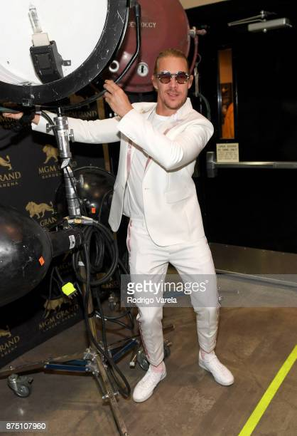 Diplo attends The 18th Annual Latin Grammy Awards at MGM Grand Garden Arena on November 16 2017 in Las Vegas Nevada