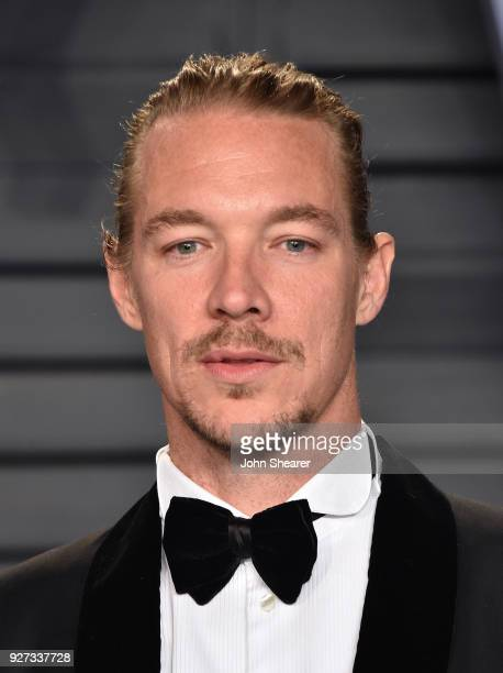 Diplo attends the 2018 Vanity Fair Oscar Party hosted by Radhika Jones at Wallis Annenberg Center for the Performing Arts on March 4, 2018 in Beverly...