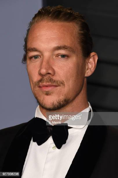 Diplo attends the 2018 Vanity Fair Oscar Party hosted by Radhika Jones at the Wallis Annenberg Center for the Performing Arts on March 4 2018 in...