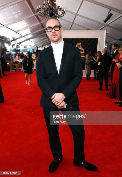 Diplo attends the 61st Annual GRAMMY Awards at Staples Center on February 10 2019 in Los Angeles California