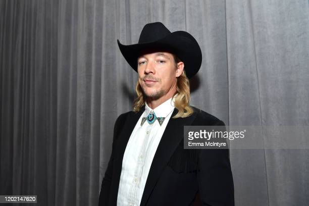 Diplo attends the 62nd Annual GRAMMY Awards at STAPLES Center on January 26, 2020 in Los Angeles, California.