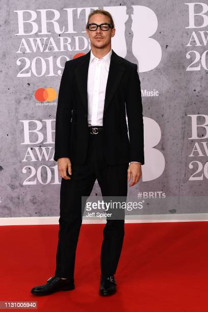 Diplo attends The BRIT Awards 2019 held at The O2 Arena on February 20 2019 in London England
