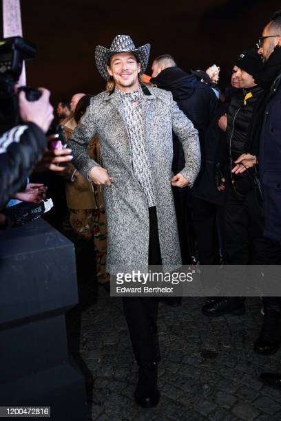 Diplo attends the Dior show during Paris Fashion Week Menswear F/W 20202021 on January 17 2020 in Paris France