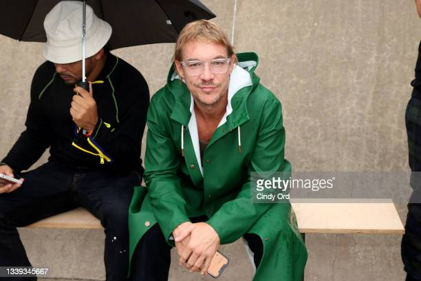 Diplo attends the front row for Monse Resort 22 during NYFW: The Shows on September 09, 2021 in New York City.
