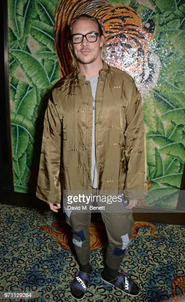 Diplo attends the GQ Style and Browns LFWM Party at Annabels on June 10 2018 in London England