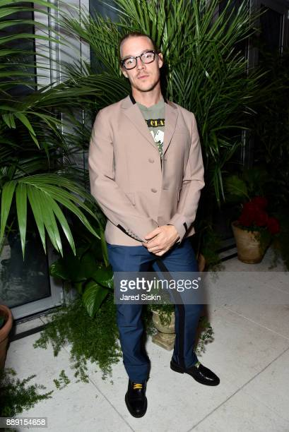 Diplo attends the Gucci X Artsy dinner at Faena Hotel on December 6 2017 in Miami Beach Florida