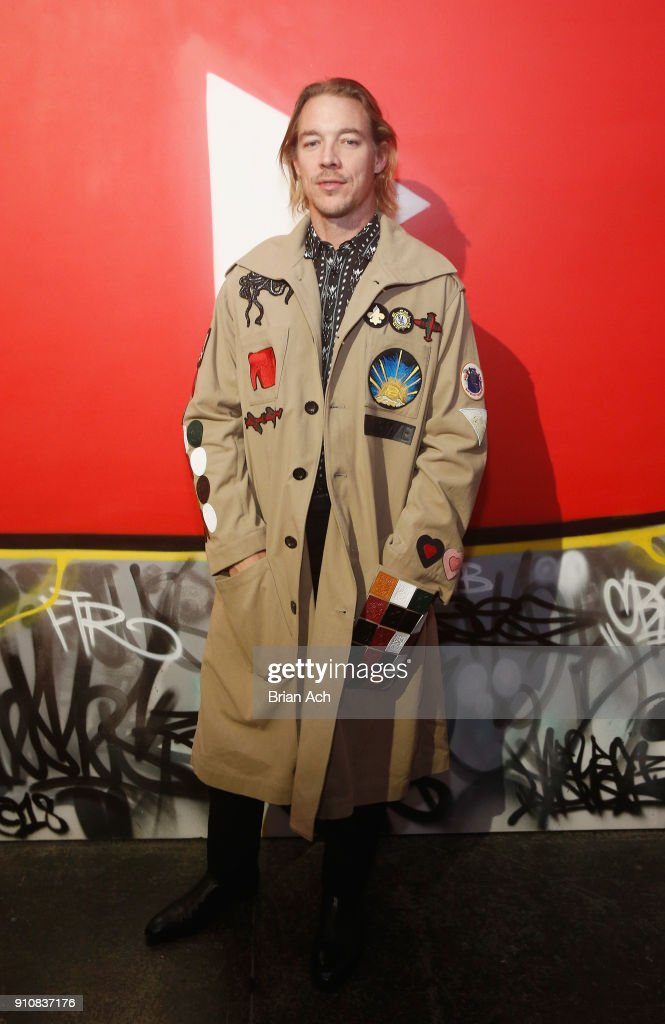 DJ Diplo attends YouTube brings the BOOM BAP BACK to New York City With Lyor Cohen, Nas, Grandmaster Flash, Q-Tip, Chuck D and Fab 5 Freddy on January 26, 2018 at Industria in New York City.