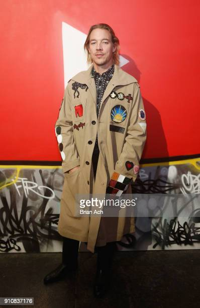 Diplo attends YouTube brings the BOOM BAP BACK to New York City With Lyor Cohen Nas Grandmaster Flash QTip Chuck D and Fab 5 Freddy on January 26...