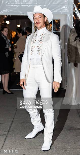 Diplo is seen arriving to the 2020 amfAR New York Gala at Cipriani Wall Street on February 05 2020 in New York City