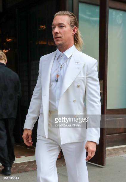 Diplo is seen on May 07 2018 in New York City