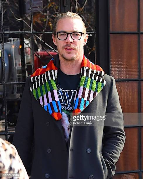 Diplo is seen out and about in Manhattan on November 21 2017 in New York City
