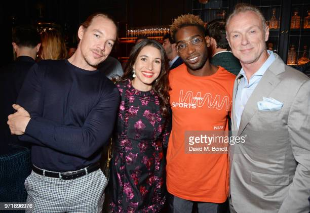 Diplo Lauren Kemp Tinie Tempah and Gary Kemp attend the GQ Dinner cohosted by Dylan Jones and Loyle Carner to celebrate London Fashion Week Men's...