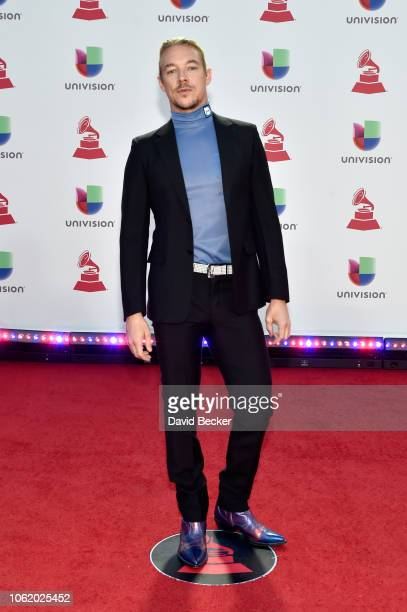 Diplo of Major Lazer attends the 19th annual Latin GRAMMY Awards at MGM Grand Garden Arena on November 15 2018 in Las Vegas Nevada