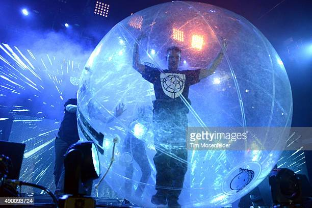 Diplo of Major Lazer performs during the 2015 Life is Beautiful festival on September 25 2015 in Las Vegas Nevada
