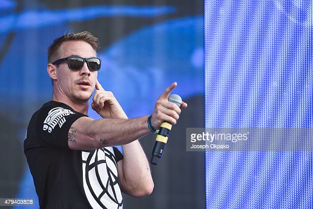 Diplo of Major Lazer performs on Day 1 of the New Look Wireless Festival at Finsbury Park on July 3 2015 in London England