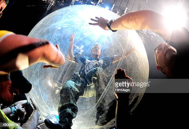 Diplo of Major Lazer performs onstage during day 1 of the 2015 Life is Beautiful festival on September 25 2015 in Las Vegas Nevada