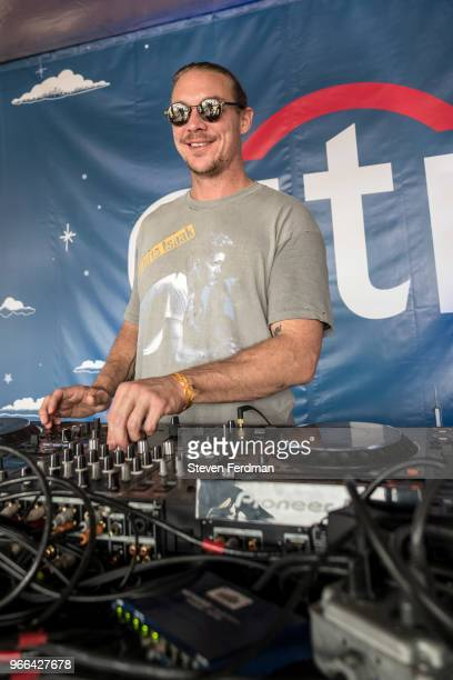 Diplo performs a private concert live at the 2018 Governors Ball Music Festival Randall's Island on June 2, 2018 in New York City.