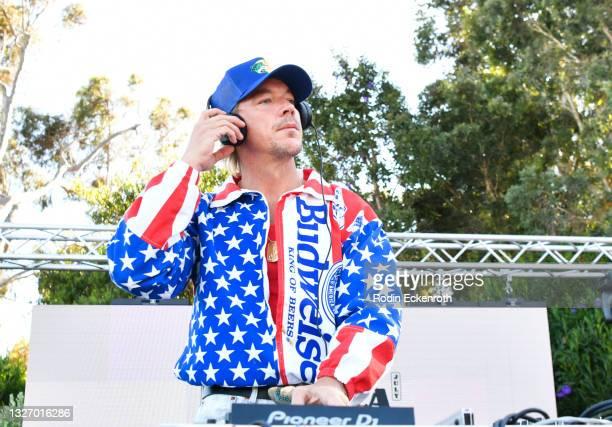 Diplo performs at BigMike's 4th of July Malibu Beach Bonanza on July 04, 2021 in Malibu, California.