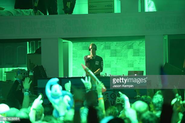 Diplo performs at Bud Light House of Whatever on January 31 2015 Bud Light House of Whatever is the ultimate #UpForWhatever experience featuring...