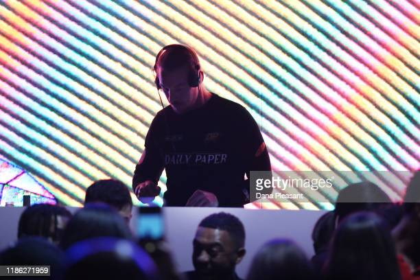Diplo performs during boohoo x All That Glitters Launch Party on November 07 2019 in Los Angeles California