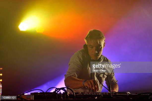 Diplo performs during day 2 of 2010 Electric Zoo held at Randall's Island Park on September 5 2010 in New York City