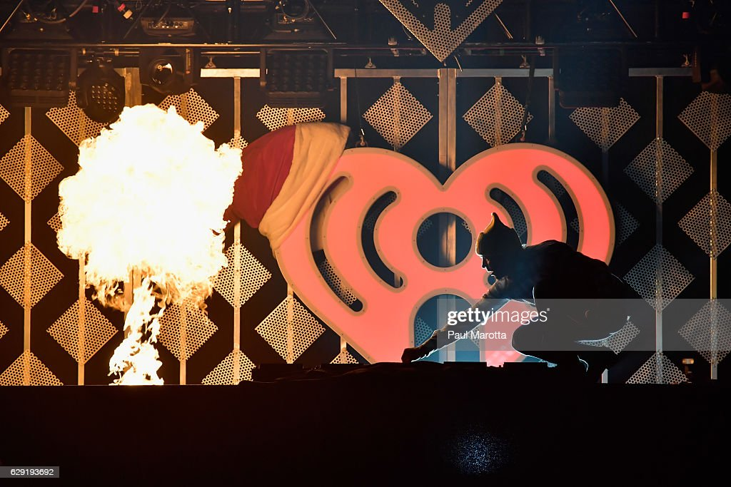 Diplo performs on stage during KISS 108's Jingle Ball 2016 at TD Garden on December 11, 2016 in Boston, Massachusetts.