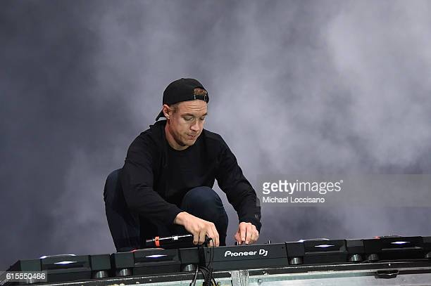 Diplo performs onstage at the 'PINK Nation Campus Party' hosted by Victoria's Secret PINK at Virginia Tech on October 18 2016 in Blacksburg Virginia