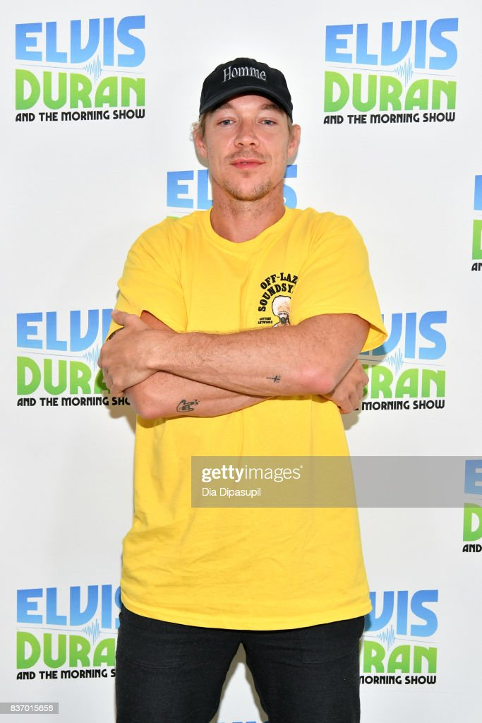 Diplo visits 'The Elvis Duran Z100 Morning Show' at Z100 Studio on August 22, 2017 in New York City.