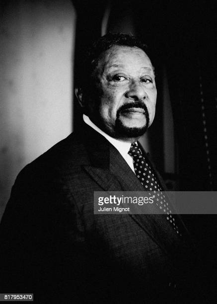 Diplomat and politician Jean Ping is photographed for Liberation on July 17 2017 in Paris France PUBLISHED IMAGE