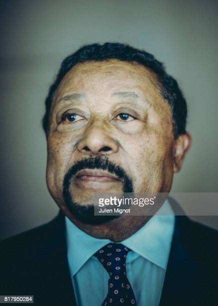 Diplomat and politician Jean Ping is photographed for Self Assignment on July 17 2017 in Paris France