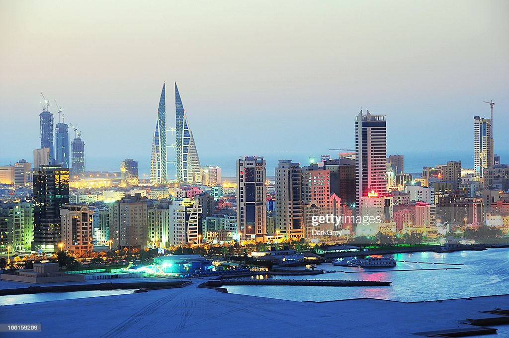 Diplomatic Area, Bahrain : Stock Photo