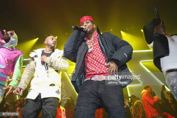Dipset perform at Spotify's RapCaviar Live in New York at Hammerstein Ballroom on November 21 2017 in New York City