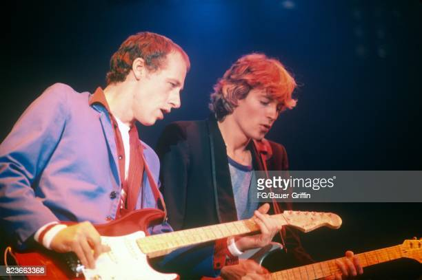 Dire Straits at the De Montfort Hall in Leicester on December 13 1982 in Leicester United Kingdom 170612F1