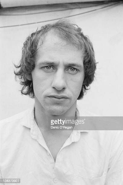 Dire Straits guitarist and songwriter Mark Knopfler circa 1978