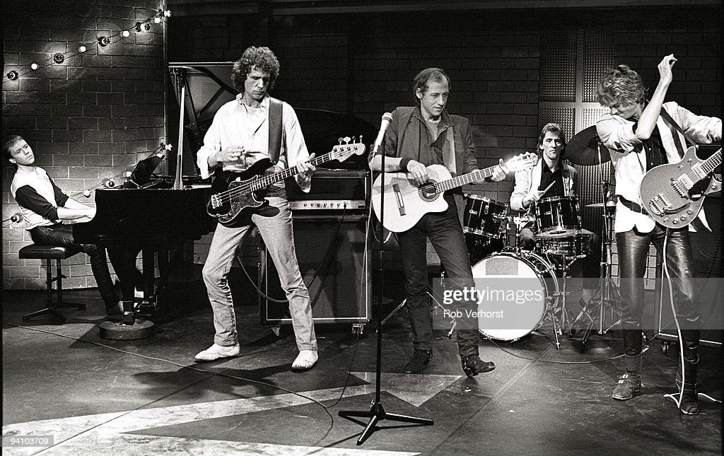Dire Straits Perform Live On Top Pop : News Photo