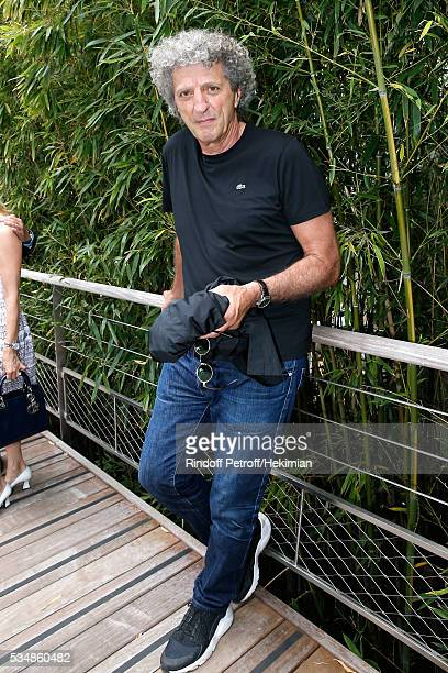 Direcor Elie Chouraqui attends Day Seven of the 2016 French Tennis Open at Roland Garros on May 28 2016 in Paris France