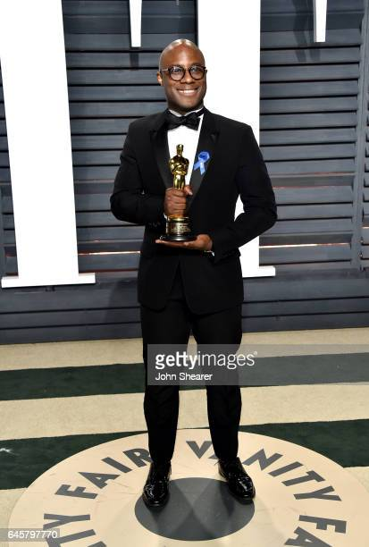 Direcotr Barry Jenkins attends the 2017 Vanity Fair Oscar Party hosted by Graydon Carter at Wallis Annenberg Center for the Performing Arts on...