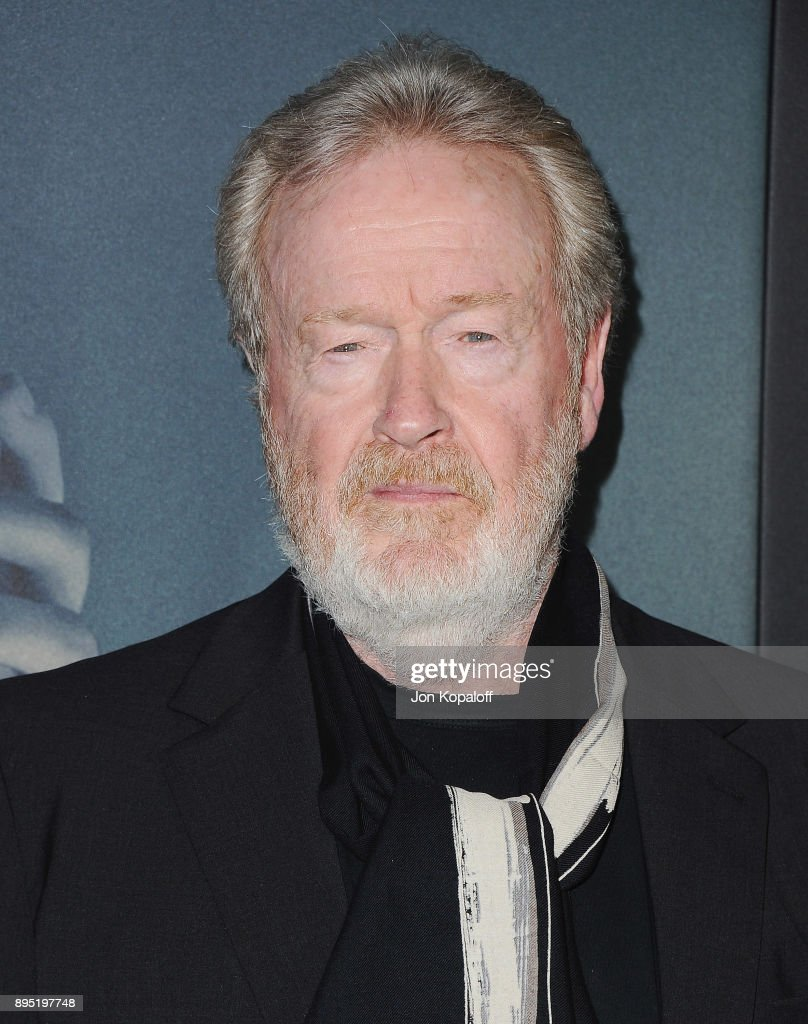 Direct Ridley Scott attends the Los Angeles Premiere 'All The Money In The World' at Samuel Goldwyn Theater on December 18, 2017 in Beverly Hills, California.
